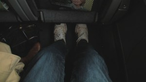 Legroom in coach aboard Amtrak NE Regional