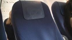 KLM Economy comfort seating