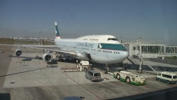 Cathay Pacific Airlines 747-400