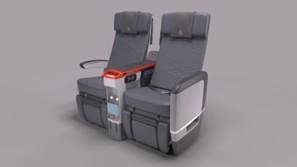 View of Singapore Airlines Premium Economy Seats Photo: Singapore Airlines
