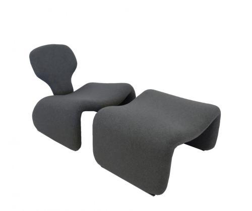 Horrible Ny Olivier Lounge Chairs Djinn Fireside Chair Ottoman Olivier Mourgue Djinn Chair Reupholstery Ottomans