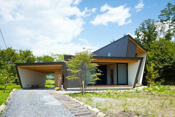 yatsugatake by MDS en modusvivendi arquitectura architecture japan japon casa abanico alpes