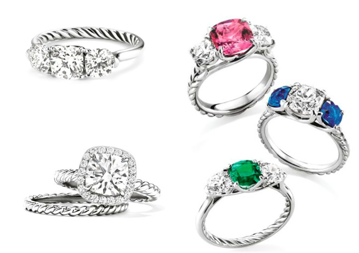 spotlight on david yurman wedding rings that symbolize the magic of lasting love david yurman wedding rings and the iconic cable aesthetic are just a few cornerstone design elements that we admire After all a wedding ring should be completely timeless