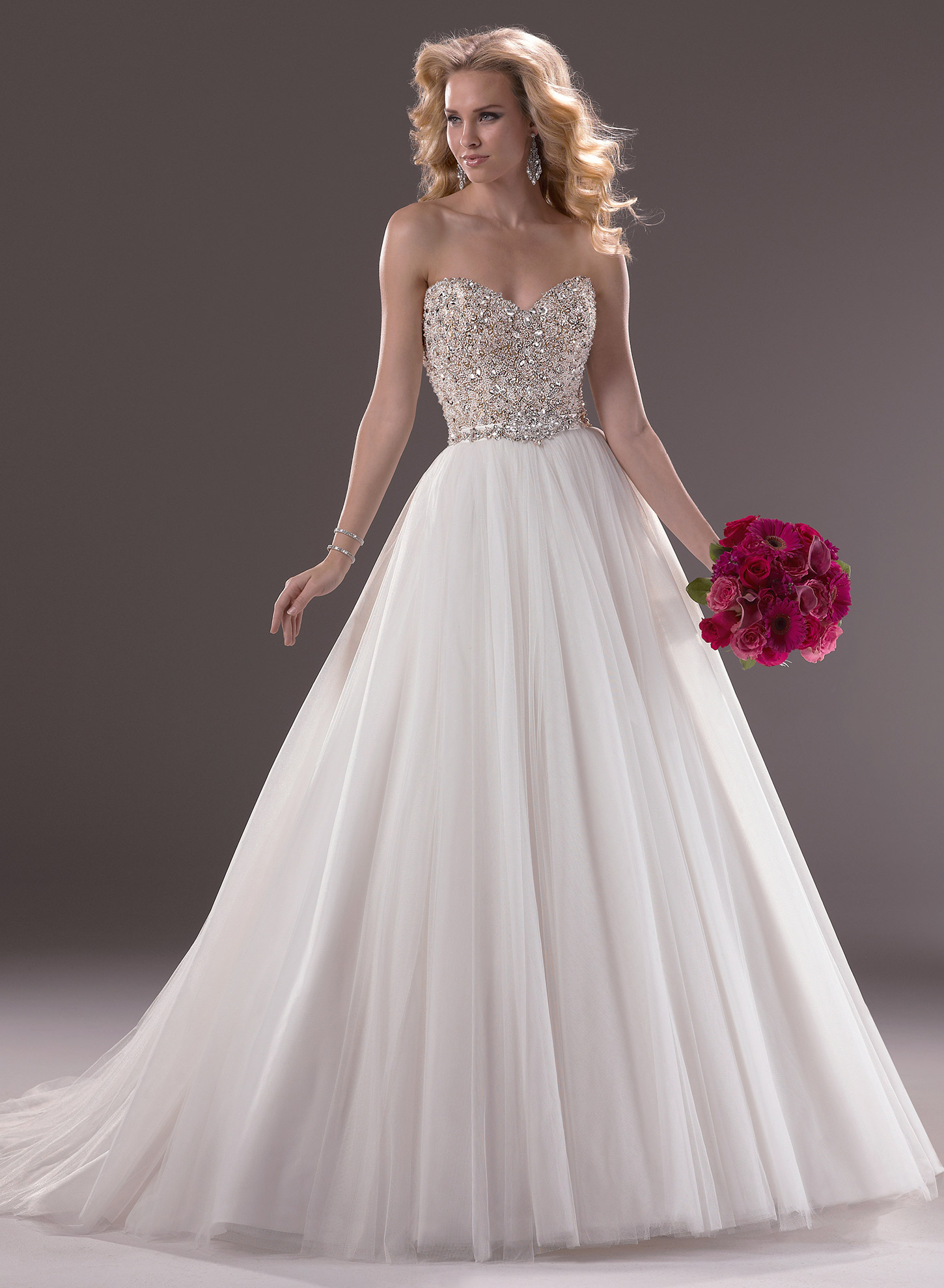 wedding dress designers known for bling 2 diamond wedding dresses The Best Gowns From Most In Demand Wedding Dress Designers