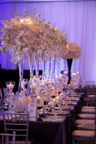 Combine Classic And Contemporary Wedding Reception ...