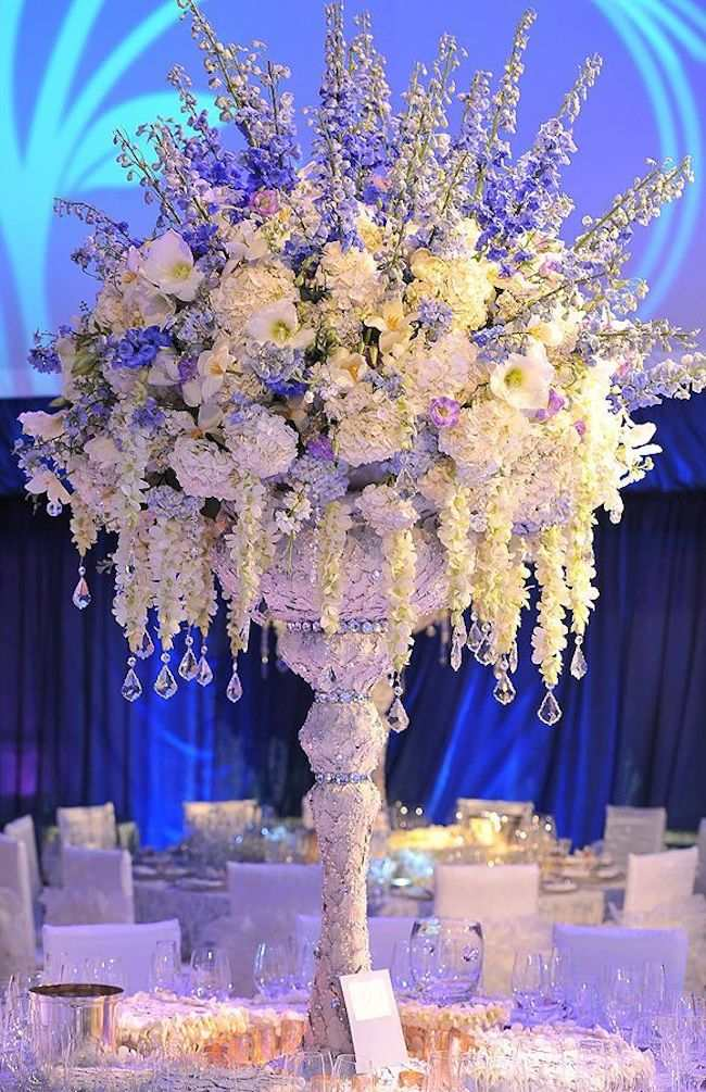 blue wedding decoration ideas. blue wedding centerpiece Elegant Shades Of Blue Wedding Centerpiece Ideas  crazyforus