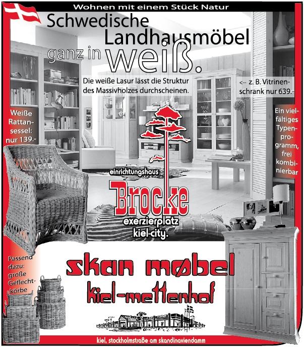 Schwedische Landhausmöbel ganz in weiß | Einrichtungshaus Brocke ...