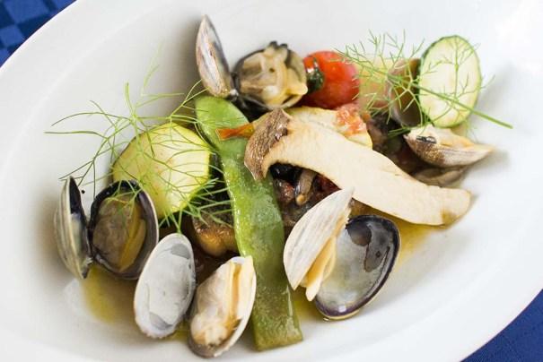 夏の魚料理