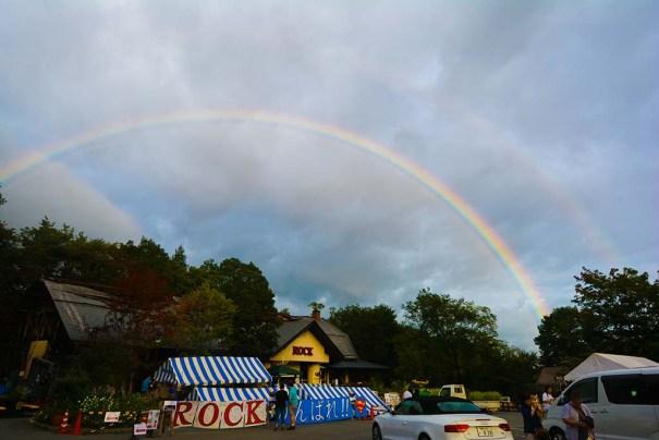 二重の虹が02