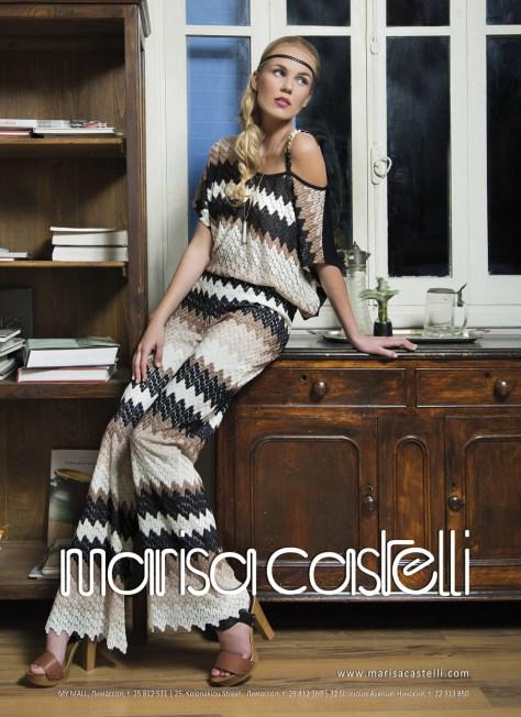 Marisa Castelli SS2014 Ad Campaign by Moi ostrov Studio