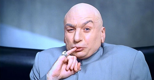 Dr. Evil had to steal his Mojo. You can get yours legally at Mojosells.com