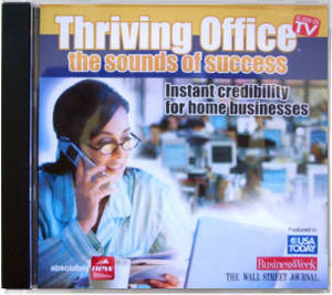 Thriving Office -- Can a sound effects CD help boost your confidence on cold calls?