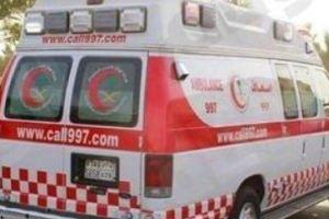 وفاة اثنين وإصابة 10 اخرين جراء حادث انقلاب حافلة بالجوف