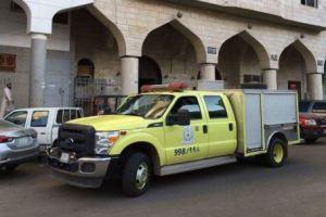 إندلاع حريق بشقة بحي المصانع في المدينة والمدني ينقذ 24 محتجزا