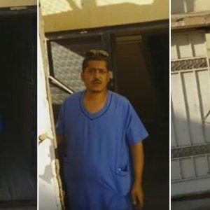 بالفيديو مدير مركز رعاية صحية في صامطة ينظف المركز بسبب قلة العمالة