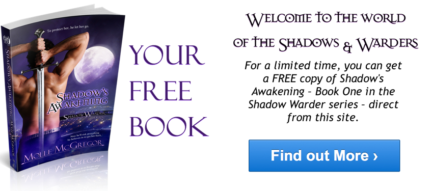 Get a FREE copy of Book One in the Shadow Warder series, Shadow's Awakening. Click Here.
