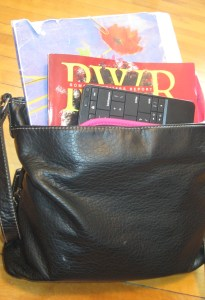 Purse with keyboard