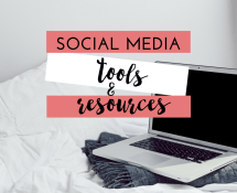 Social Media Tools & Resources