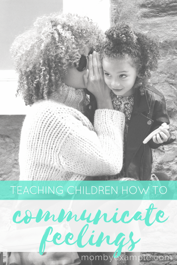 how to children how to communicate feelings