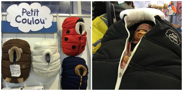 Petit Coulou Winter Stroller Cover MomCave New York Baby Show