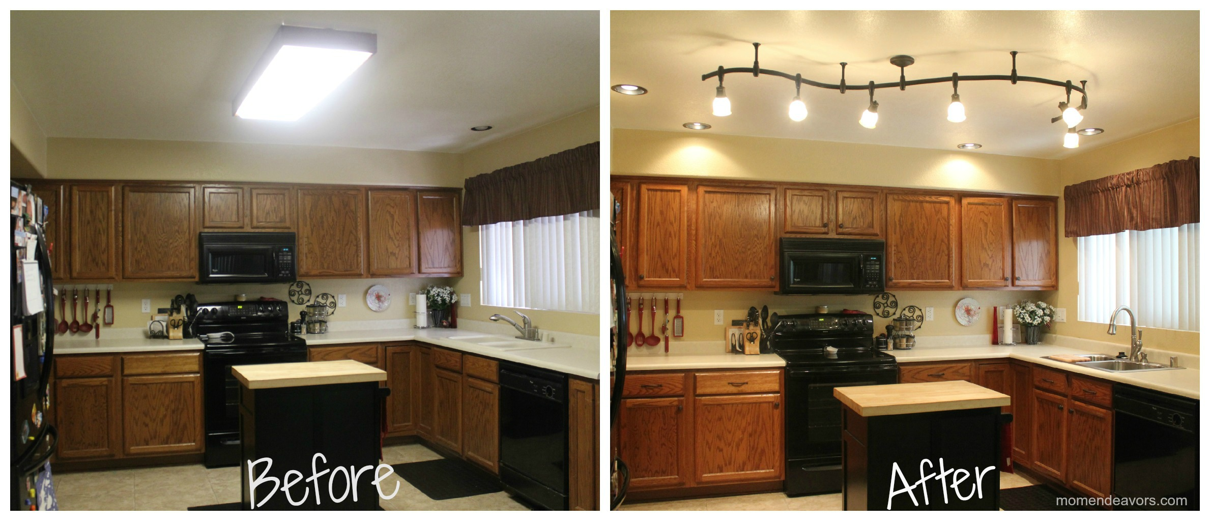mini kitchen remodel kitchen light It