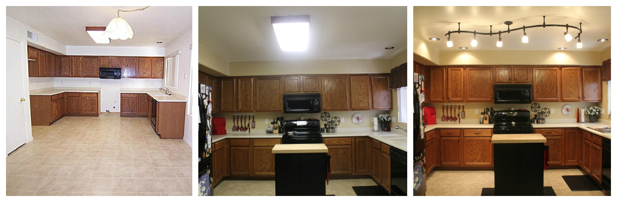 mini kitchen remodel fluorescent kitchen lighting So