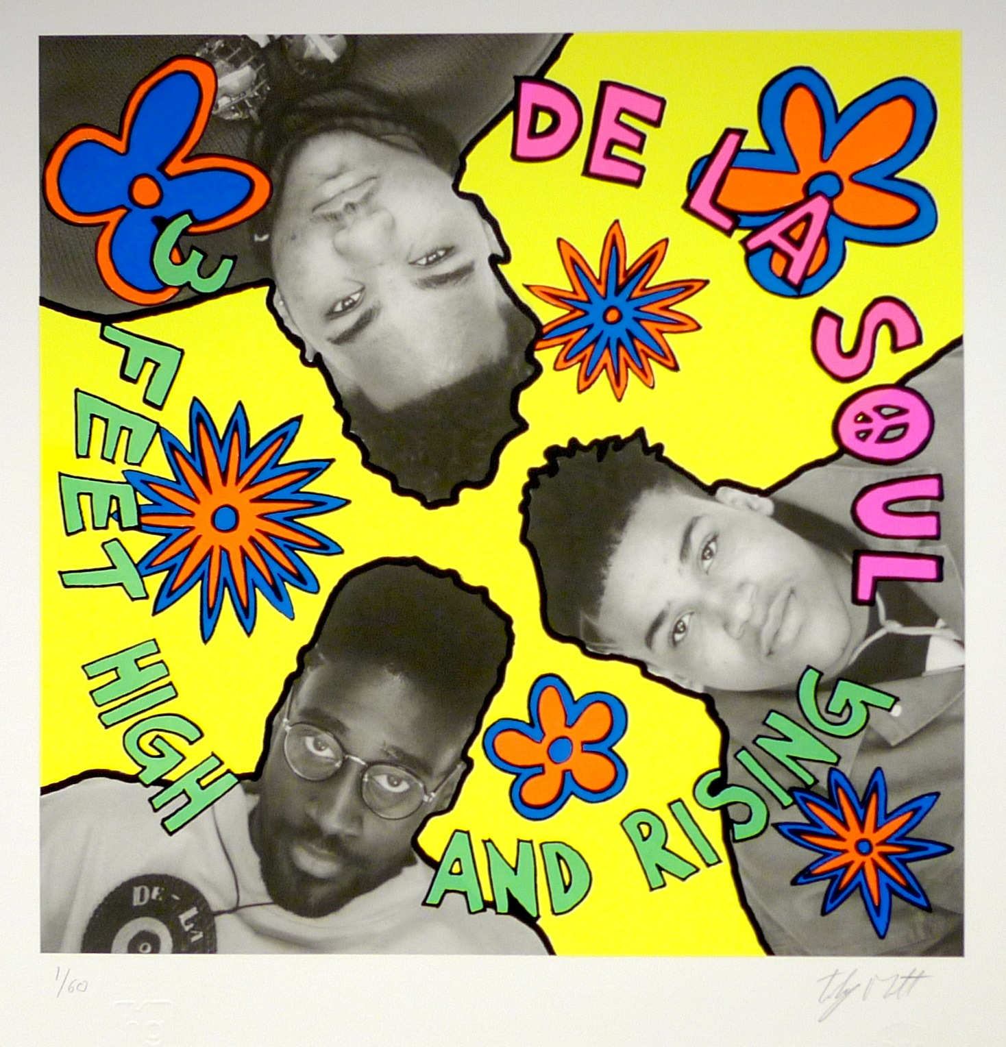 "De La Soul ""3 Feet High and Rising"" (1989) image courtesy of Tommy Boy Warner Bros."