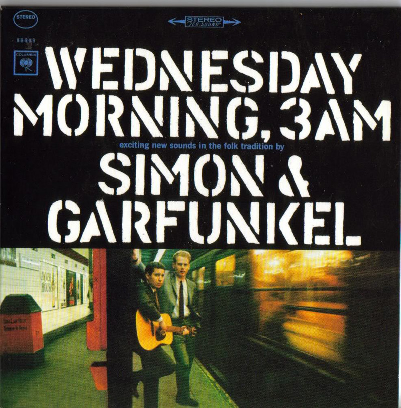 """Wednesday Morning, 3 A.M."" (1964), by Simon & Garfunkel. Courtesy, Sony Music Entertainment"