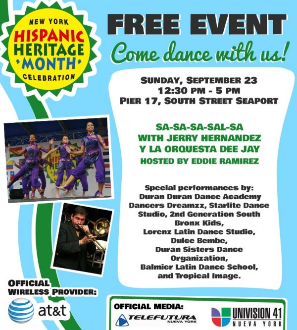 free hispanic heritage month nyc events for families