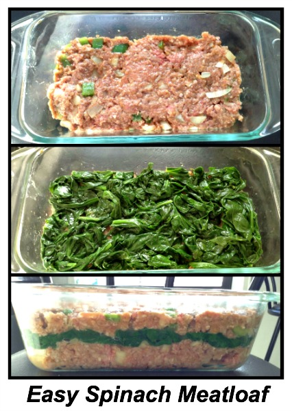 Super Easy Spinach Meatloaf Recipe