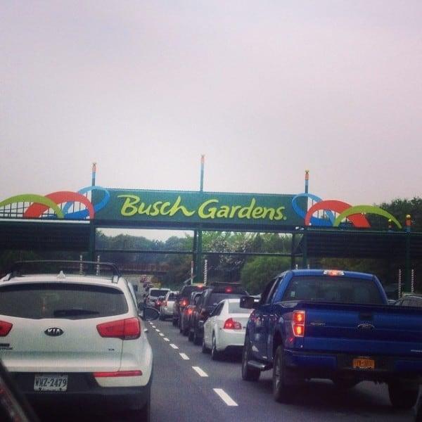 6 busch gardens williamsburg rides for families for Busch gardens williamsburg schedule