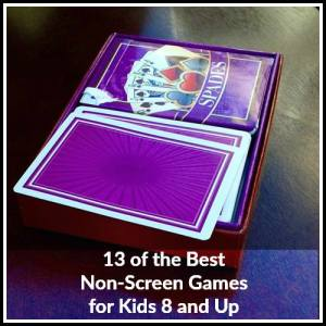 13 of the Best Non-Screen Games for Kids 8 and Up