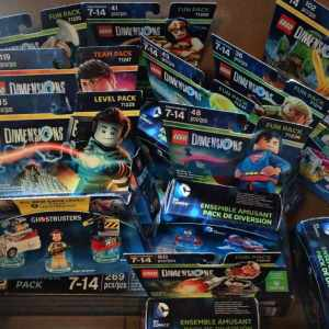 KIds Love the LEGO Dimensions New Characters