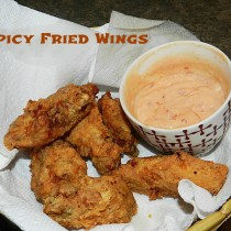 Spicy Fried Wings