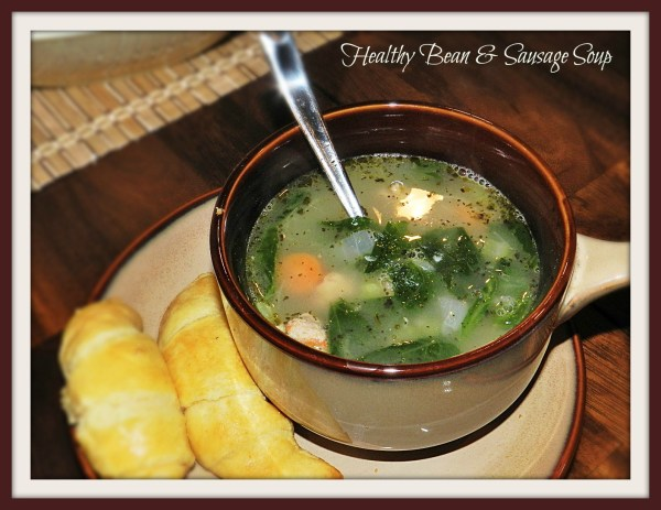 Healthy Bean & Sausage Soup