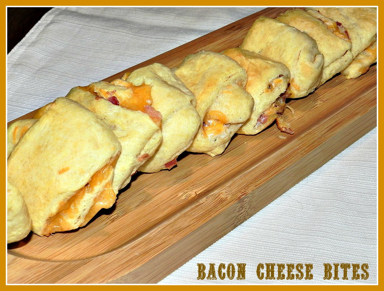 Cheddar Bacon Bites