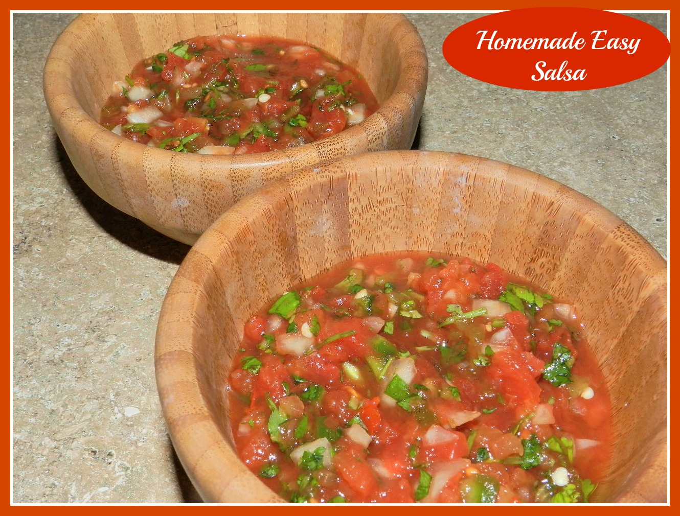 Homemade Easy Salsa