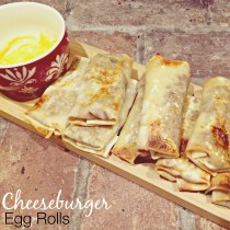 Cheeseburger Egg Rolls 3