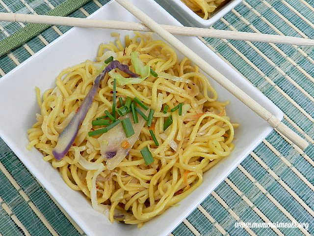 how to make chow mein noodles easy