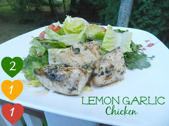 Try these #21DayFix Approved Lemon Garlic Chicken Tenders on top of a ...