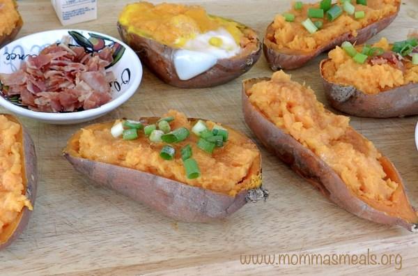 Twice Baked Sweet Potato Bar FB