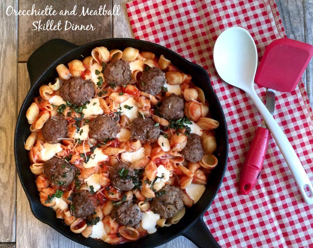 Meatball Skillet Dinner