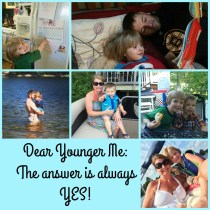 Dear Younger Me Collage