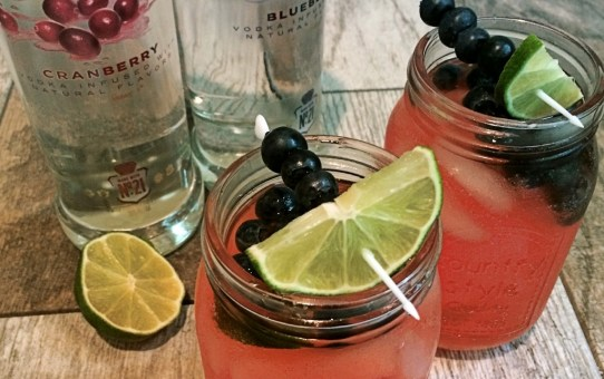 Blueberry Cranberry Cocktail