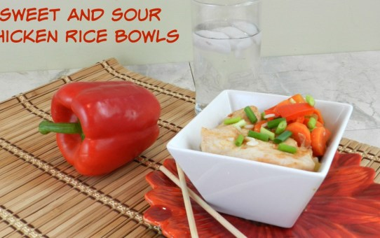 Sweet & Sour Chicken Bowls FB