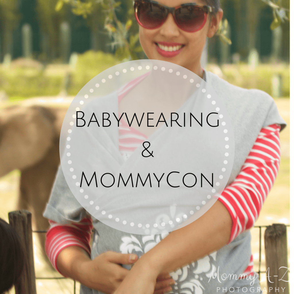 [Giveaway] This Babywearing Newbie is Going to MommyCon and You Can Too