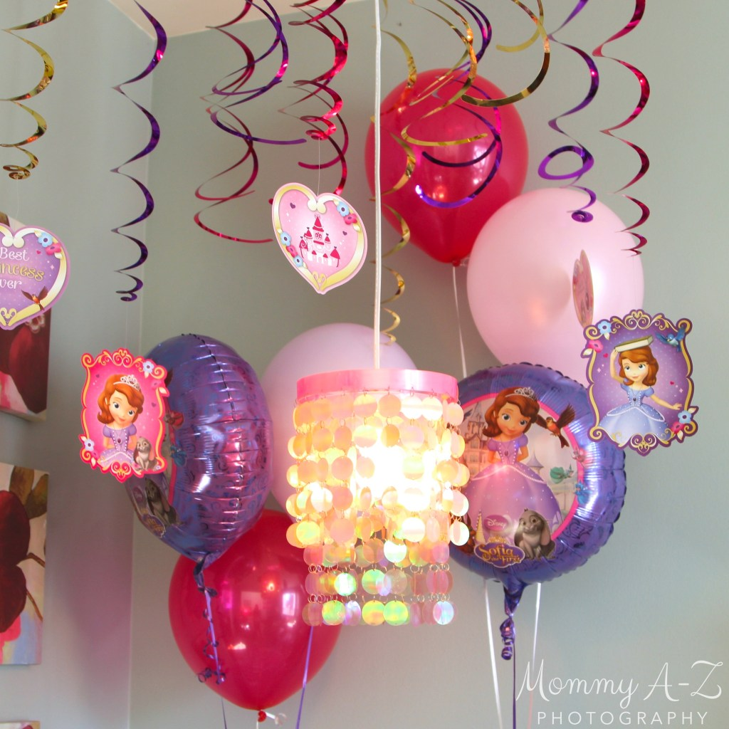 Sofia the First Birthday Decorations