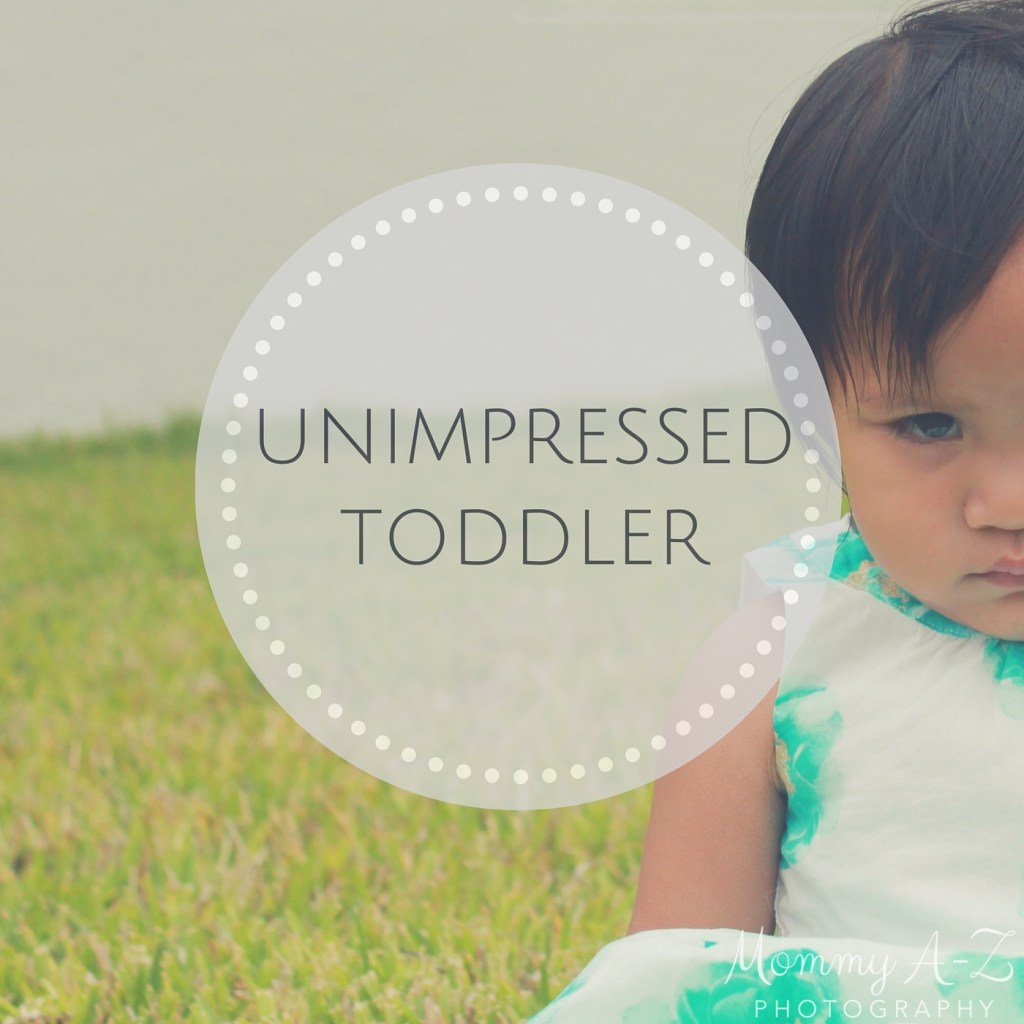 Unimpressed Toddler