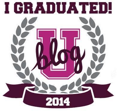 I graduated from BlogU14