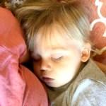 mom guilt, sleeping baby, mom tantrum